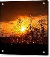 Sunset Splash 2 Acrylic Print