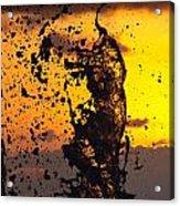Sunset Splash 3 Acrylic Print