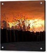 Sunset Splash 4 Acrylic Print