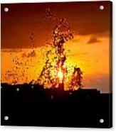Sunset Splash 5 Acrylic Print