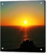 Sunset View Acrylic Print by Alma Yamazaki