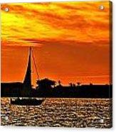 Sunset Xii Acrylic Print