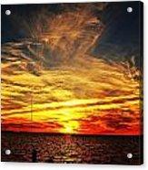 Sunset Xiii Acrylic Print