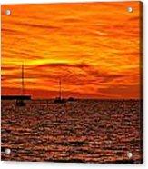 Sunset Xix Acrylic Print