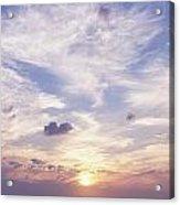 Sunsets Over The Beach, Magheraroarty Acrylic Print