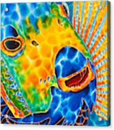 Sunshine Angelfish Acrylic Print