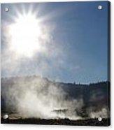 Sunshine Hot Springs Acrylic Print
