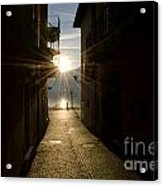 Sunshine In An Alley Acrylic Print