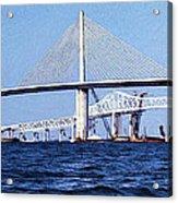 Sunshine Skyway Bridge II Acrylic Print