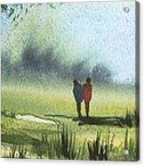Sunshine Stroll Acrylic Print