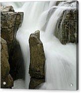 Sunwapta Falls 2 Acrylic Print