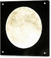 Super Moon I Acrylic Print
