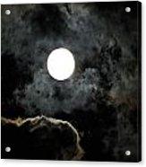 Super Moon II Acrylic Print