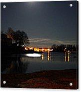Super Moon Night   2 Acrylic Print