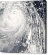 Super Typhoon Wipha Acrylic Print