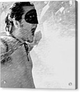 Superboy Of Peachtree Black And White Acrylic Print