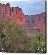 Superstitions Acrylic Print