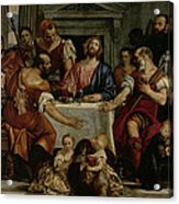 Supper At Emmaus Acrylic Print