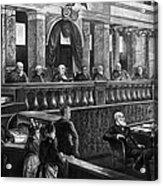 Supreme Court, 1888 Acrylic Print