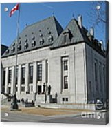 Supreme Court Of Canada Acrylic Print