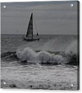 Surf And Sail Acrylic Print