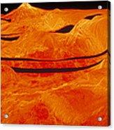 Surface Of Venus Acrylic Print