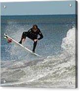 Surfing 399 Acrylic Print by Joyce StJames