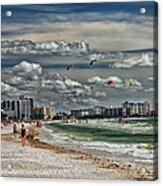Surfs Up Acrylic Print by Boyd Alexander