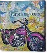 Surprising Oasis Acrylic Print