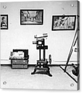 Surveillance Equipment, 19th Century Acrylic Print