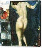 Susanna And The Old Men Acrylic Print