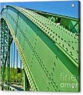 Suspension Bridge Acrylic Print