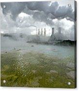 Svartsengi Geothermal Power Plant Acrylic Print