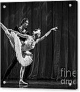 Swan Lake  White Adagio  Russia 3 Acrylic Print