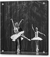 Swan Lake  White Adagio  Russia 4 Acrylic Print