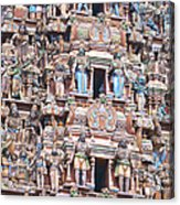 Swarm Of Statues Acrylic Print