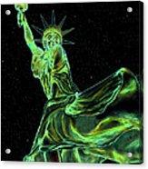 Sweat Liberty Acrylic Print