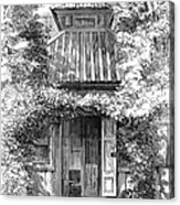 Swedenborgs Cottage Acrylic Print