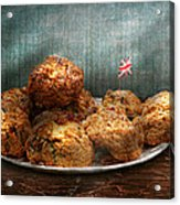 Sweet - Scone - Scones Anyone Acrylic Print by Mike Savad