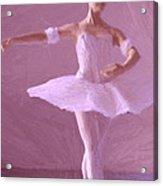 Sweet Ballerina Acrylic Print