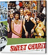 Sweet Charity, Paula Kelly, Shirley Acrylic Print by Everett