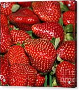 Sweet Florida Strawberries Acrylic Print