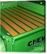 Sweet Green Pea Acrylic Print
