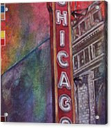 Sweet Home Chicago Acrylic Print