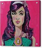 Sweet Like Barbie Acrylic Print