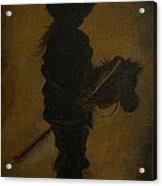 Sweet Little Rider Acrylic Print