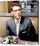 Sweet Smell Of Success, Burt Lancaster Acrylic Print by Everett