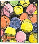 Sweet Tart Candy Acrylic Print