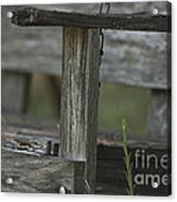 Swing In The Woods Acrylic Print