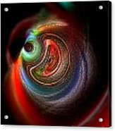 Swirl Of Colors Acrylic Print